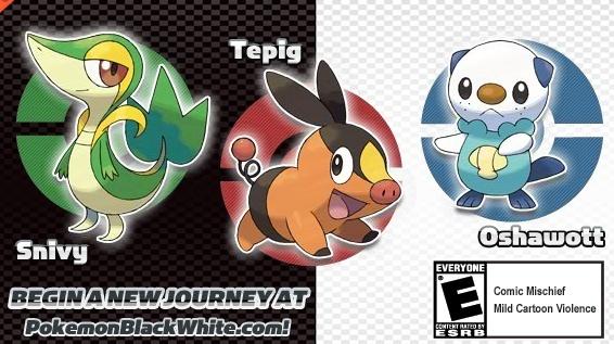 Pokémon White & Black se acercan a E.E.U.U Englis10