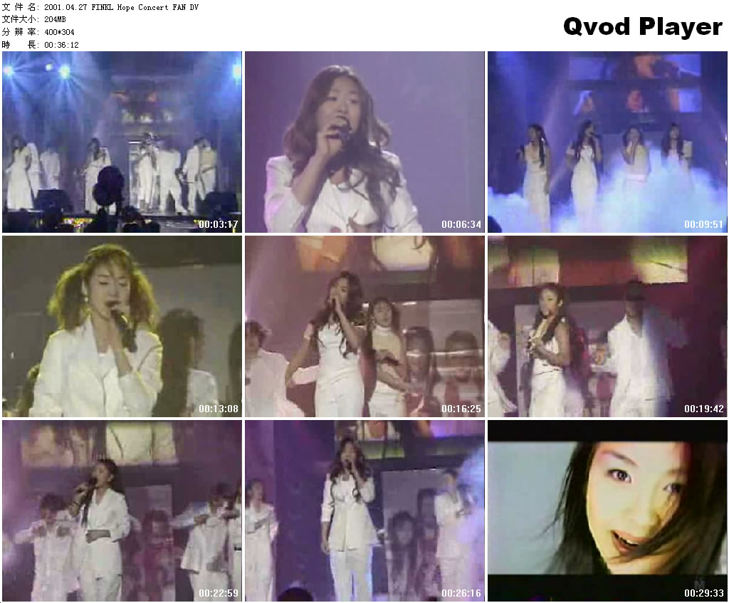 [010427] Fin.K.L - Hope Concert [204M/wmv] 2001_010