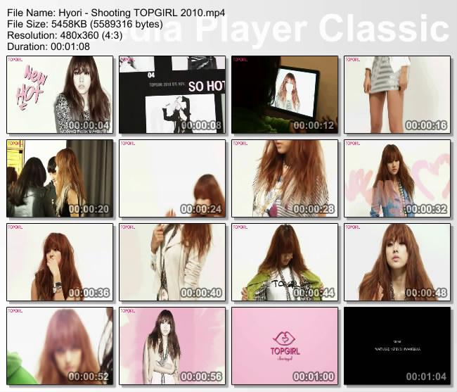 [100000] Hyori -  TOP GIRL Shooting [5M/mp4] Thumbs36