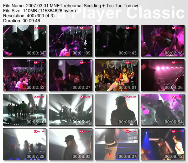 [070301] Hyori - rehearsal Scolding + Toc Toc Toc Mnet [110M/avi] Thumbs41