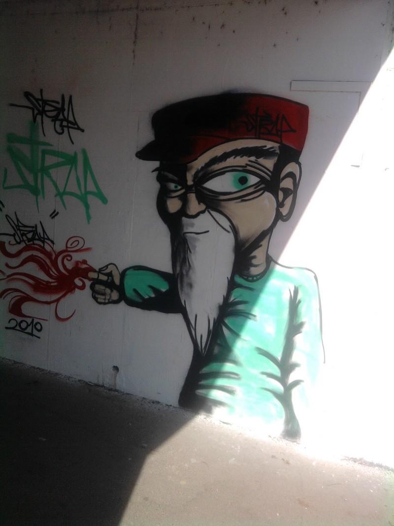 Poster un graffiti Photo010