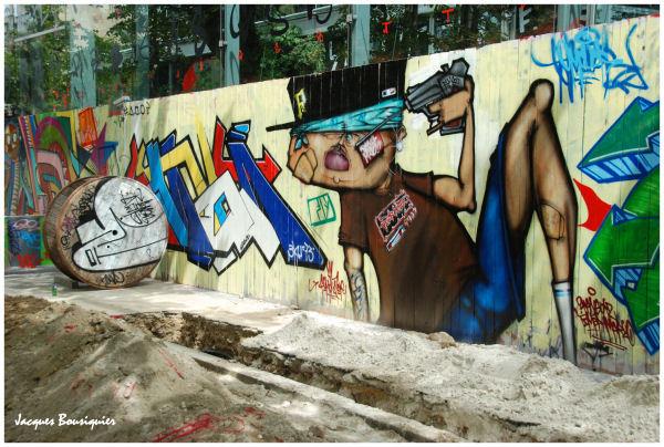 Poster un graffiti Graffi15