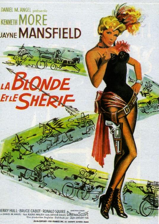 La blonde et le Shérif -The Sheriff of Fractured Jaws-, Raoul Walsh, 1958. La20bl10