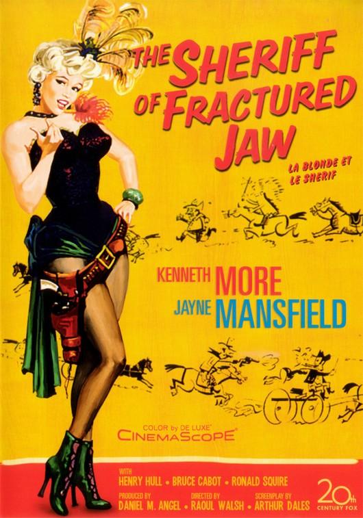 La blonde et le Shérif -The Sheriff of Fractured Jaws-, Raoul Walsh, 1958. La20bl11