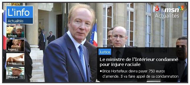 Le Ministre Brice Hortefeux condamné pour injure raciale ! Hortef10