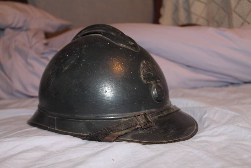 La collection de Théo militaria. Casque10