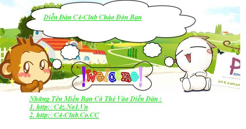 Chào Mừng Bạn Đến Với  C4-Club