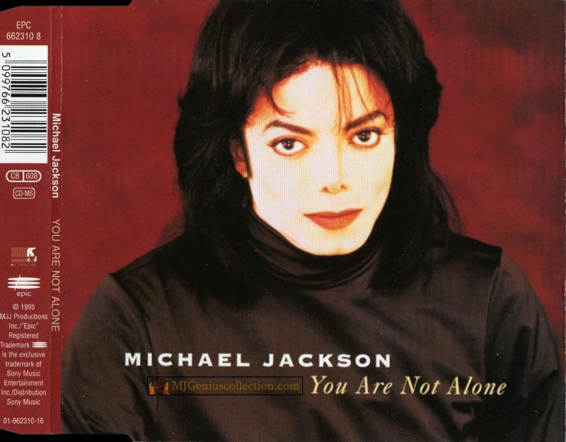 Maxi Single You Are Not Alone - EPC 662310 8 (1000 ex) Cdm_yo10