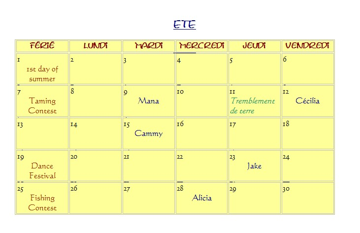 Calendrier (1ere generation) Screen21