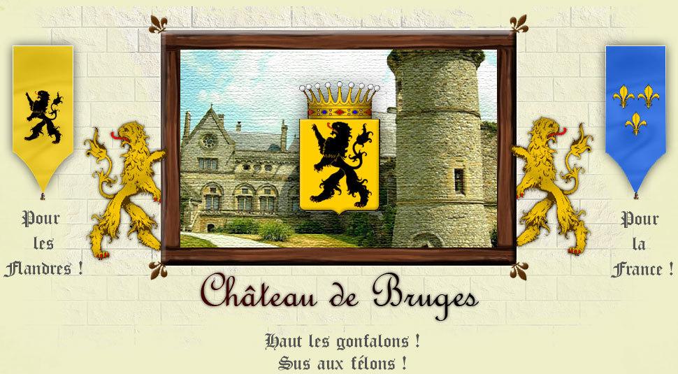 La Ville et le Chateau de Bruges