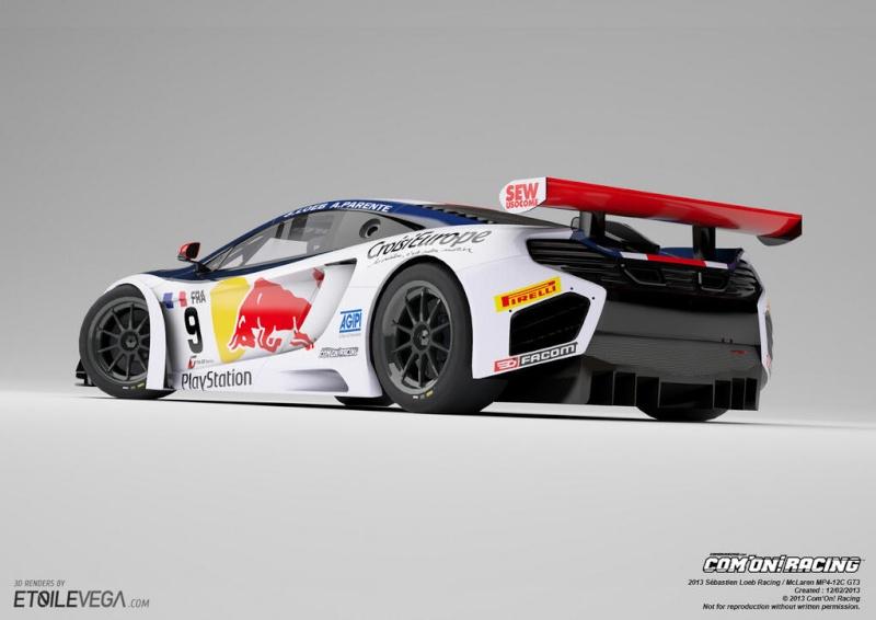 FIA GT Series 2013 Fb40