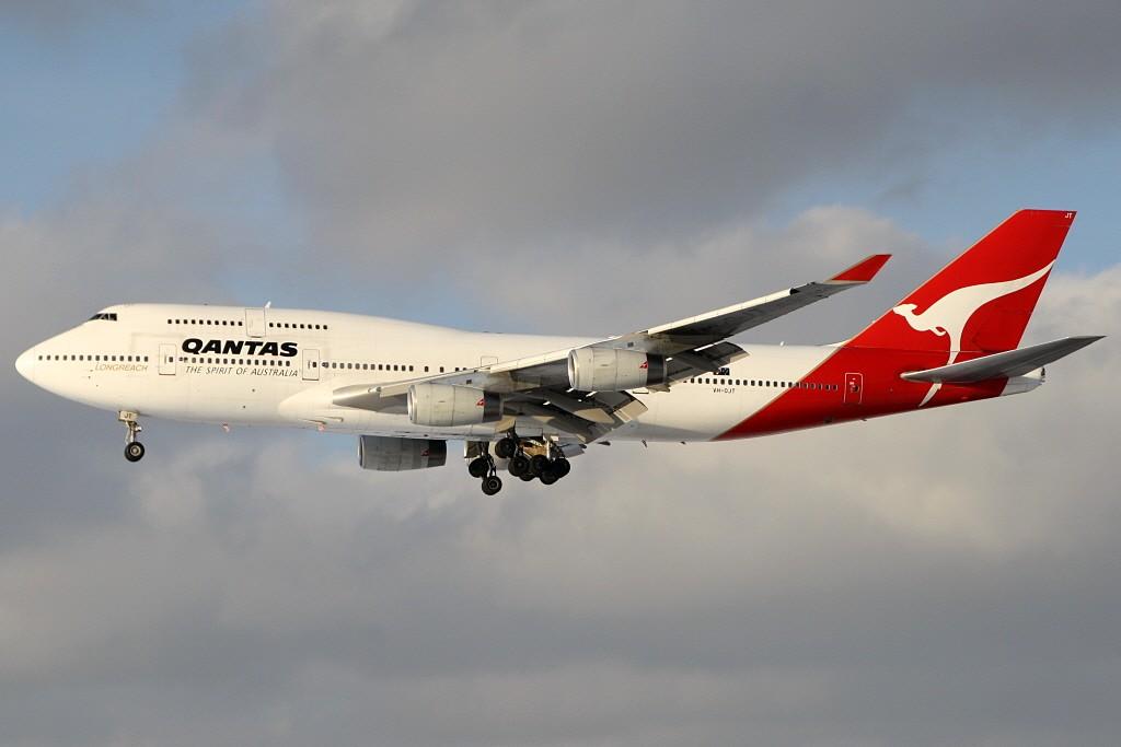 Qantas in FRA Vh-ojt10