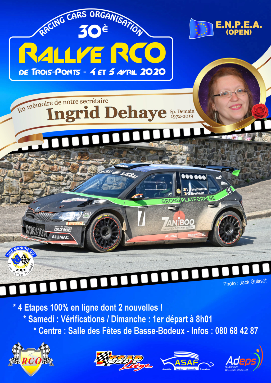 Toutes les infos concernant le 30ème Rallye RCO Aff04-10