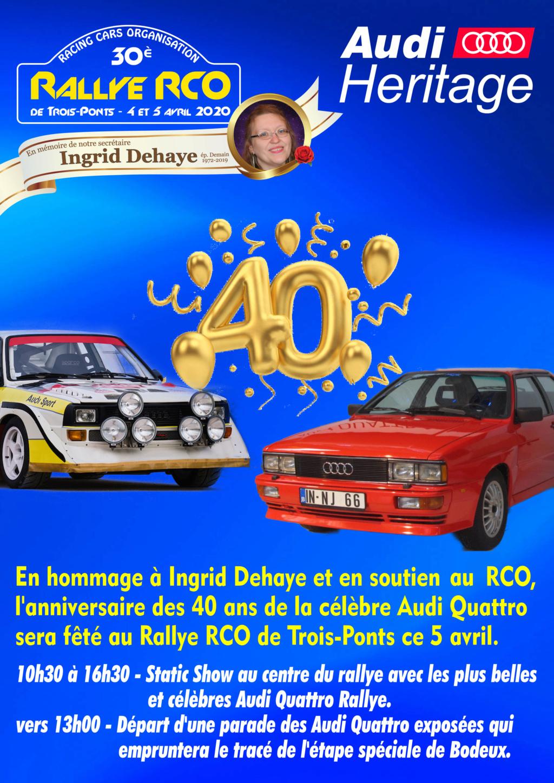 Toutes les infos concernant le 30ème Rallye RCO Affich10