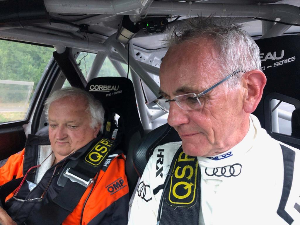 Articles de presse / net / vidéo / radio concernant le Rallye RCO de Trois-Ponts Audi-j12