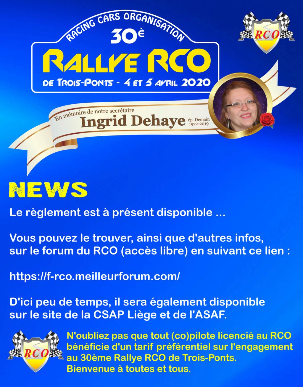 Toutes les infos concernant le 30ème Rallye RCO Promo_10