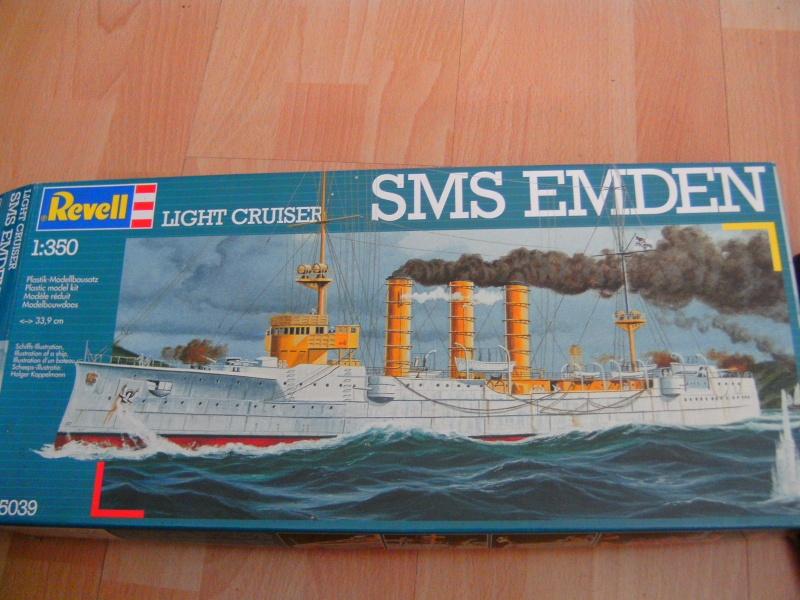 leichter Kreuzer Emden 1:350 von Revell Pict0219