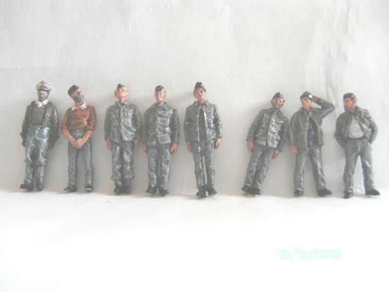 U-Boot Mannschaft, Resin / 1:72  FERTIG Pict0923