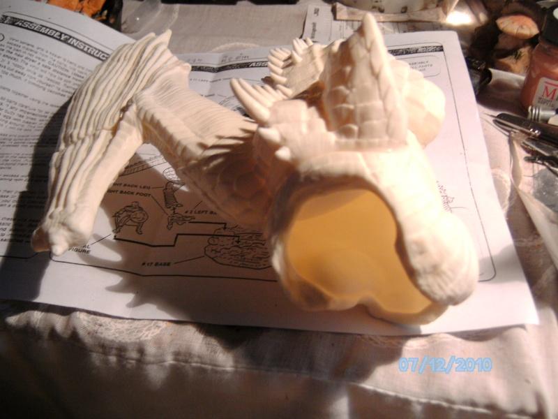 Draco mit Bowen aus dem Film Dragonheart von Revell  Pict1058