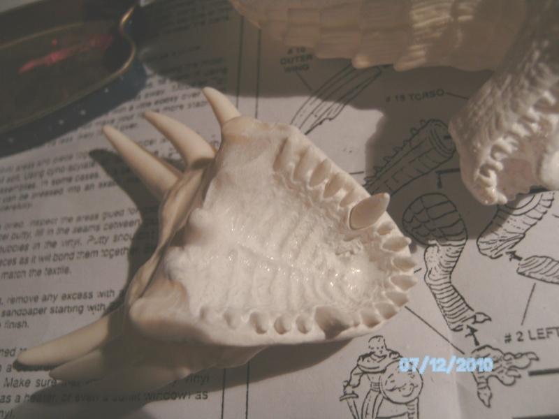 Draco mit Bowen aus dem Film Dragonheart von Revell  Pict1074