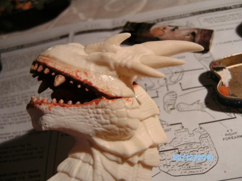 Draco mit Bowen aus dem Film Dragonheart von Revell  Pict1086