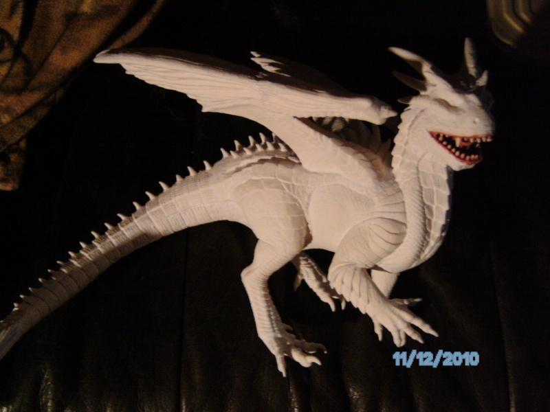 Draco mit Bowen aus dem Film Dragonheart von Revell  Pict1109