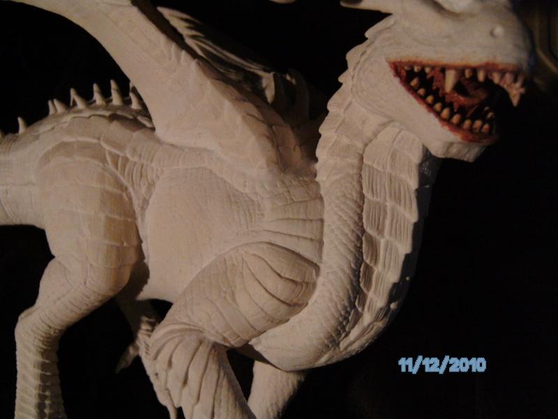 Draco mit Bowen aus dem Film Dragonheart von Revell  Pict1121