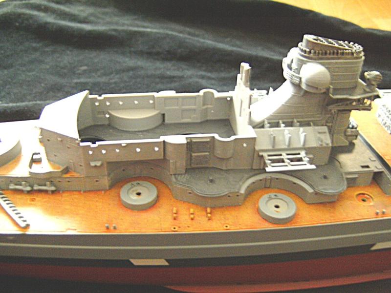 Schlachtschiff Bismarck / Revell, 1:350 Pict1610