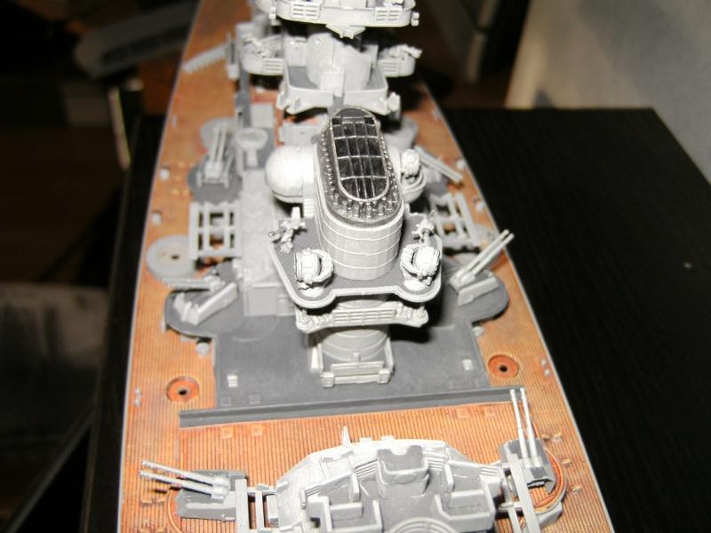 Schlachtschiff Bismarck Revell 1:350 Pict1613