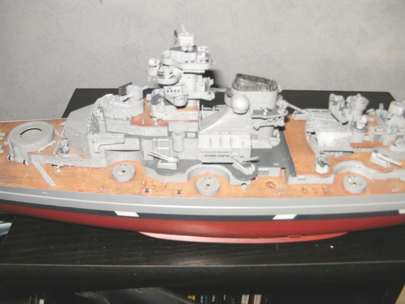 Schlachtschiff Bismarck Revell 1:350 Pict1614