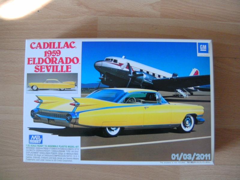 Cadillac Eldorado Modell 1959 von ? in 1:32  Pict2240