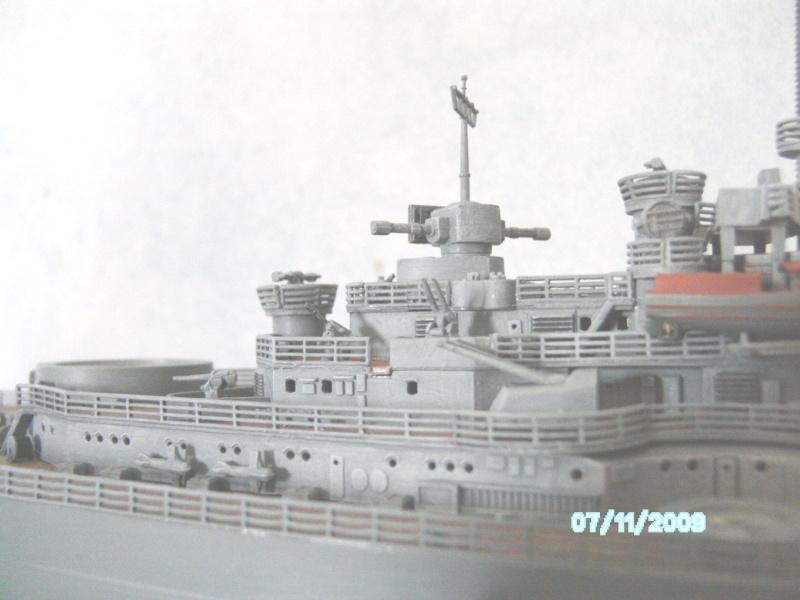 Schlachtschiff Bismarck Revell 1:350 Pict2511