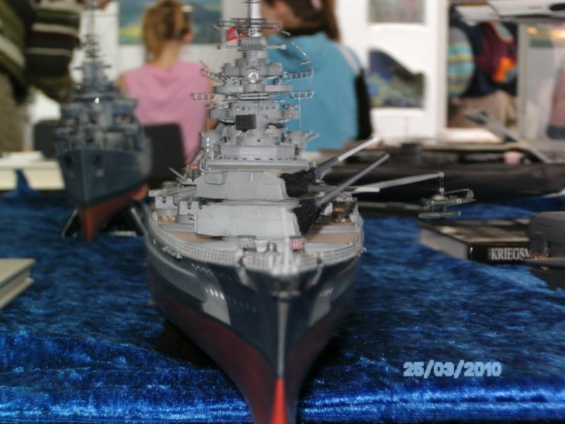 Schlachtschiff Bismarck Revell 1:350 Pict2916