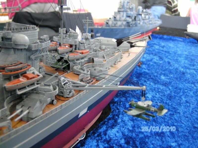 Schlachtschiff Bismarck Revell 1:350 Pict3011