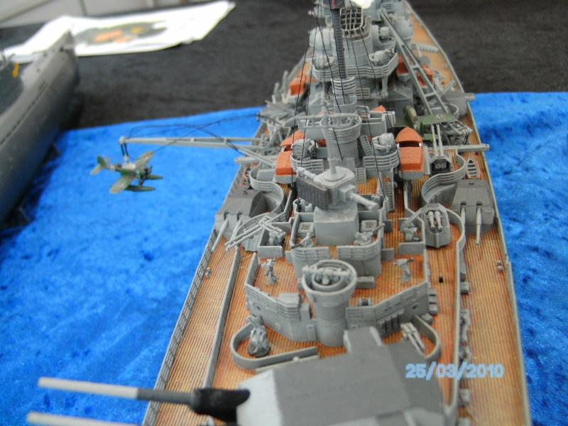 Schlachtschiff Bismarck Revell 1:350 Pict3013