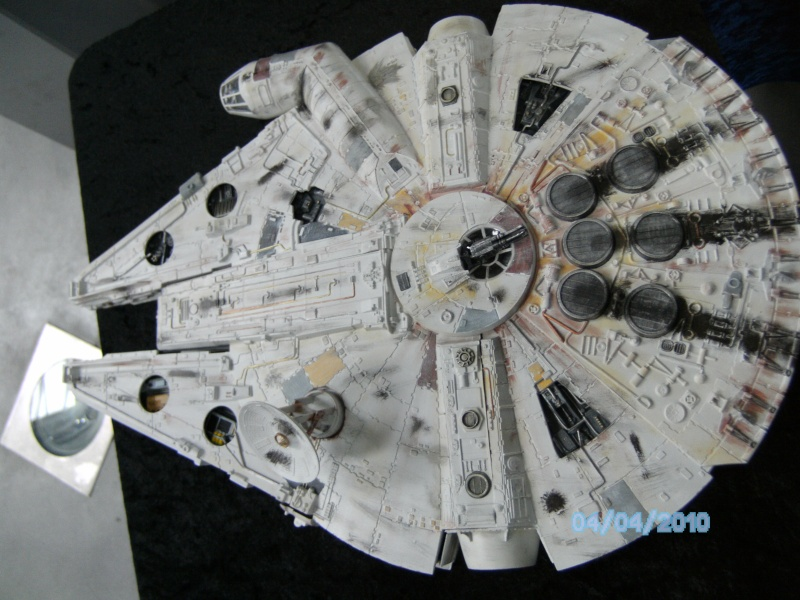 AMT Millenium Falcon Cut-Away Pict4315