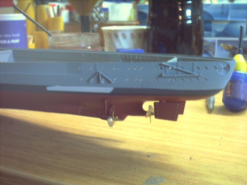 Schlachtschiff Bismarck Revell 1:350 Rimg0810