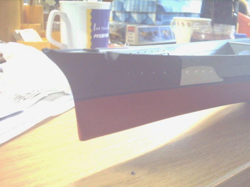 Schlachtschiff Bismarck / Revell, 1:350 Rimg0811