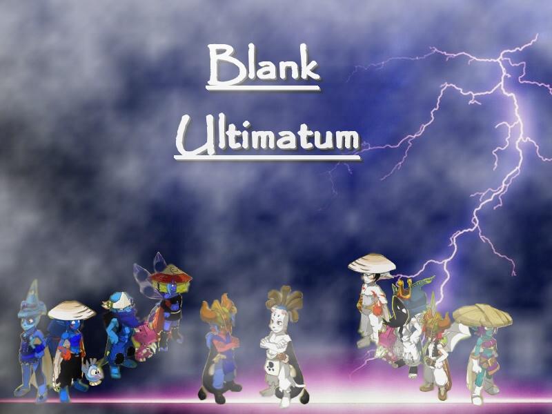 Blank Ultimatum