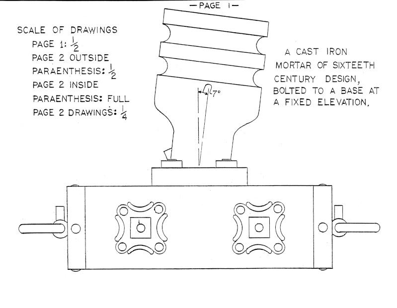 Caronade et mortier (projet de construction) 16_cen10