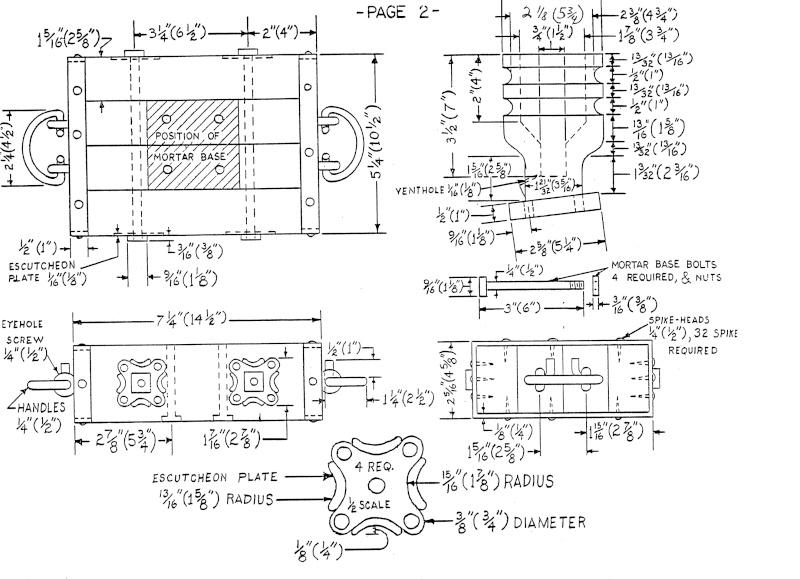 Caronade et mortier (projet de construction) 16_cen11