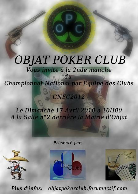 2 nd manche CNEC 2012 à Objat le 17 avril Affich10
