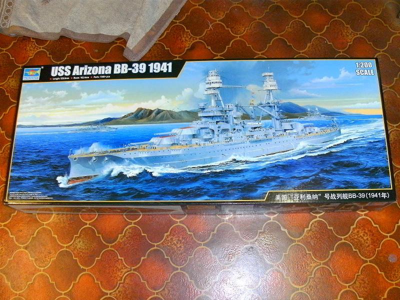 USS Arizona 1:200 von Trumpeter Arizon17