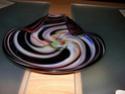 Swirl Glass Dish Sany0046