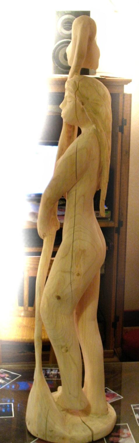Traitement d'une sculpture qui dort dehors.. Image110