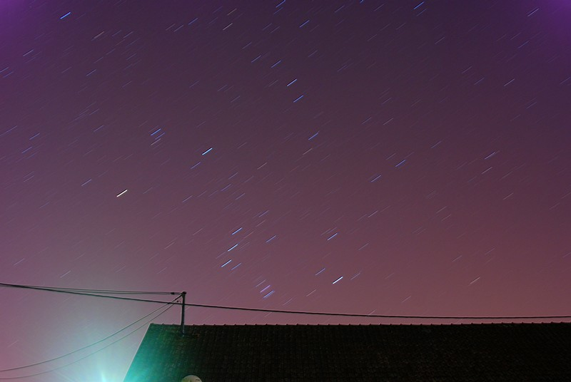 LE ciel de soir Orion110