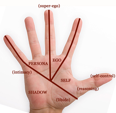 Jung's Model of the Psyche Applied to the Hand Hand-s11