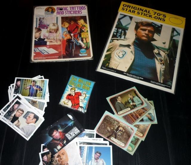 The Six Million Dollar Man /The Bionic Woman Kenner 1975-1978. Six210