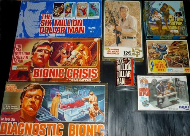 The Six Million Dollar Man /The Bionic Woman Kenner 1975-1978. Six410