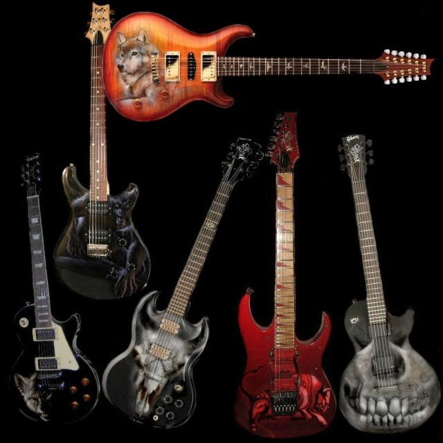 Intruments Custom. Guitar10